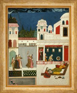 A Lord With His Mistress, Central India, Probably Malwa, Circa 1710 by Christie's Images