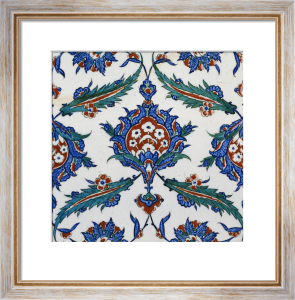 An Iznik Pottery Tile, c.1580 (I) by Christie's Images