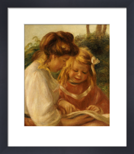 The Alphabet, Jean And Gabrielle by Pierre Auguste Renoir