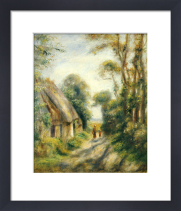The Outskirts Of Berneval. Environs De Berneval by Pierre Auguste Renoir