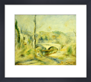 Landscape With Bridge by Pierre Auguste Renoir