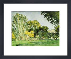 Trees At Jas De Bouffan by Paul Cezanne