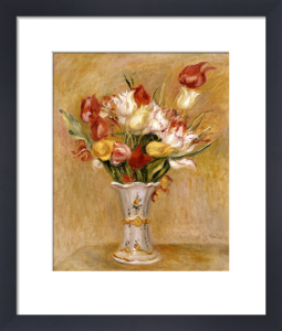 Tulipes by Pierre Auguste Renoir