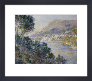 A View Of Cape Martin , Monte Carlo by Claude Monet