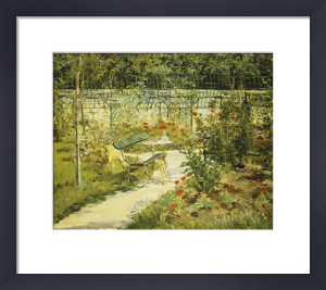 The Bench, The Garden At Versailles by Edouard Manet