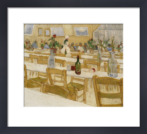 A Restaurant Interior, 1887 by Vincent Van Gogh