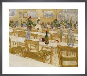 A Restaurant Interior, 1887 by Vincent Van Gogh