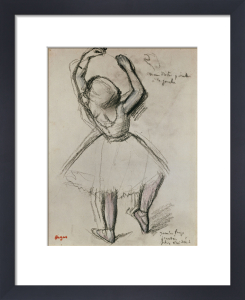 Backview Of A Dancer by Edgar Degas