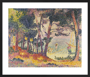 The Pine Wood (Provence), 1906 by Henri-Edmond Cross