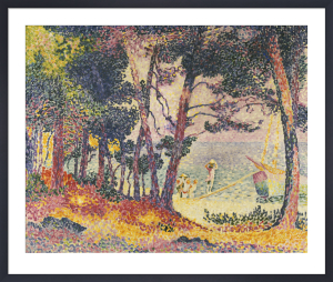 The Pine Wood (Provence), 1906 by Henri-Edmond Cross