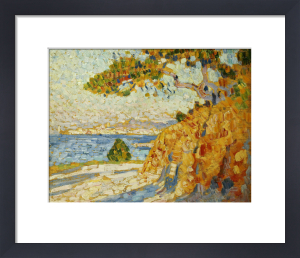 Countryside At Noon. Paysage Du Midi by Theodore van Rysselberghe