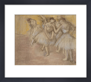 Five Dancers on Stage, c.1906 by Edgar Degas