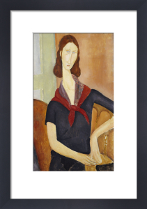 Jeanne Hebuterne (with a Scarf), 1919 by Amedeo Modigliani