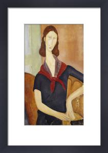 Jeanne Hebuterne (with a Scarf), 1919 by Amedeo Modigliani