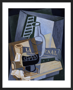 Still Life in Front of a Window, 1922 by Juan Gris