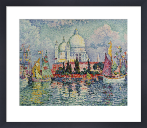La Salute, 1908 by Paul Signac