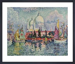 La Salute, 1908 by Paul Signac