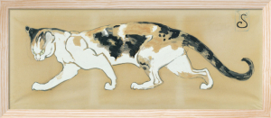 The Cat by Theophile-Alexandre Steinlen