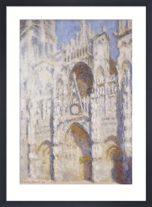 Rouen Cathedral in the Afternoon (The Gate in Full Sun), 1892 by Claude Monet
