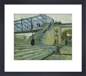 Le Pont De Trinquetaille by Vincent Van Gogh