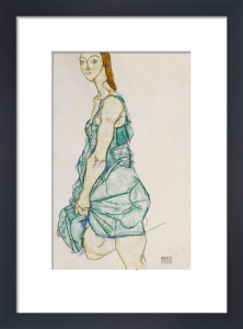 Upright Standing Woman, 1912 by Egon Schiele