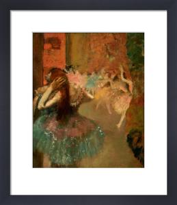 Scene De Ballet Or Balleteuses by Edgar Degas
