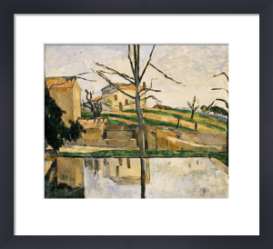 Le Bassin Du Jas De Bouffan, Circa 1878 by Paul Cezanne