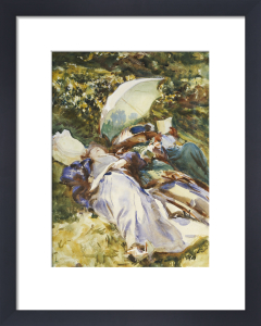 The Green Parasol c.1910 by John Singer Sargent