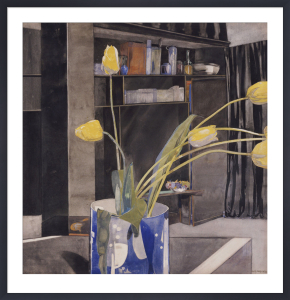 Yellow Tulips, c.1922 by Charles Rennie Mackintosh