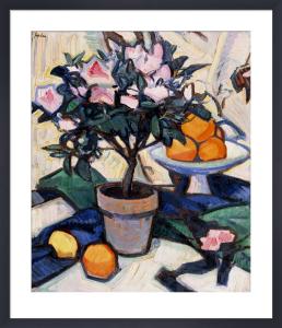 Pink Azalea and Oranges, c.1913 by Samuel John Peploe