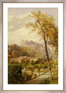 A View of Princes Street Gardens and the National Gallery, 1885 by James Burrell Smith