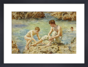 The Bathers by Henry Scott Tuke