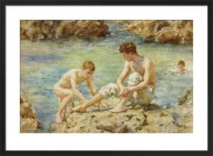 The Bathers by Henry Scott Tuke