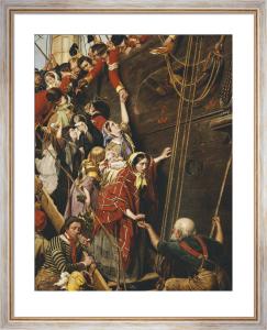 Eastward Ho! - August 1857 by Henry Nelson O'Neil