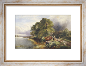 On The Thames by Henry John Boddington