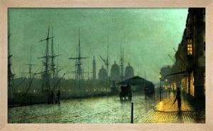 Humber Dockside, Hull, 1882 by John Atkinson Grimshaw