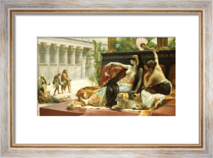 Cleopatra Testing Poison On Condemned Slaves by Alexandre Cabanel