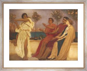 Greek Girl Dancing by Lord Frederic Leighton