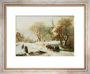Going To Church by Hermann Kauffmann