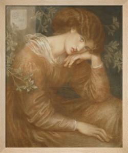 Reverie, 1868 by Dante Gabriel Rossetti