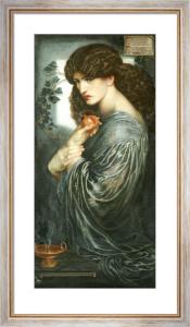 Proserpine, 1882 by Dante Gabriel Rossetti