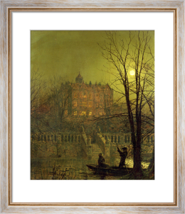 Under the Moonbeam, 1882 by John Atkinson Grimshaw