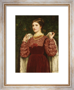 Dressing Up, 1877 by Charles Edward Perugini
