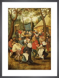The Wedding Feast by Pieter Brueghel The Younger