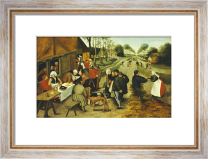 Peasants at a Roadside Inn by Pieter Brueghel The Younger