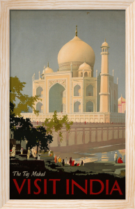Visit India - the Taj Mahal, c.1930 by William Spencer Bagdatopoulus