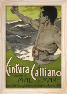 Cintura Calliano, 1898 by Adolfo Hohenstein