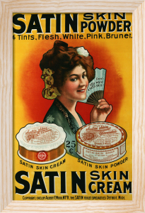 Satin Skin Powder, C.1900 by Christie's Images