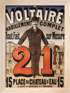 A Voltaire, C.1877 by Jules Cheret