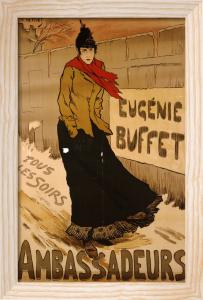 Ambassadeurs, Eugenie Buffet, 1893 by Lucien Maris Francois Metivet